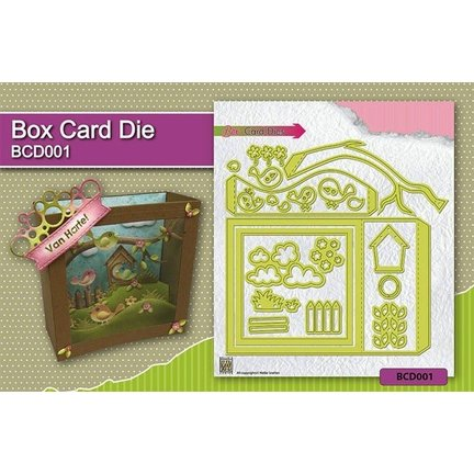 Instruction video for the Box Card / Schadowbox punch template Article: Kh494391 BCD001