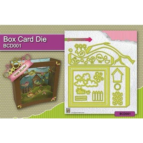 Anleitungsvideo für die Box Card / Schadowbox Stanzschablone Artikel:Kh494391 BCD001
