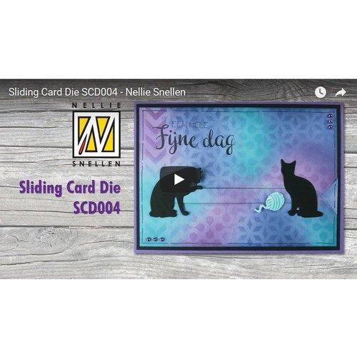 Anleitungsvideo für die Sliding Card  Stanzschablone Artikel:Kh494392 BCD004
