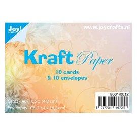 Joy!Crafts / Jeanine´s Art, Hobby Solutions Dies /  Joy Crafts! 10 cards and envelopes