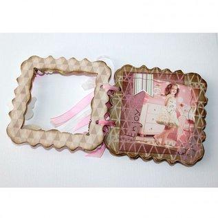 Joy Crafts, Album Relief,  120x120 mm,  MDF