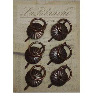 LaBlanche Lablanche, metaal ronde greep - Antique Copper