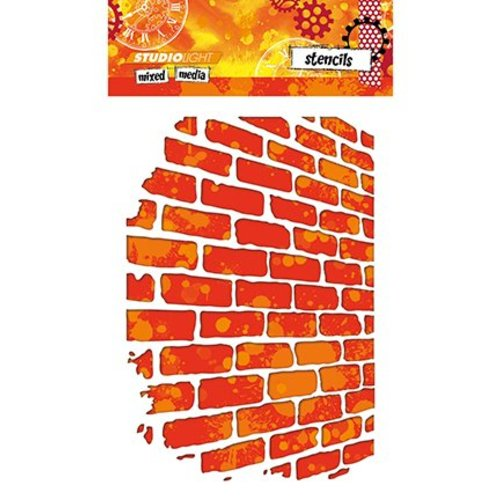 Studio Light Studio Light, Mask Stencil, væg til blandede medier