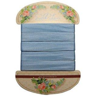 Marianne Design Marianne Design, zijden veterblauw, 13 mm - 150 cm