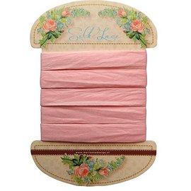 Marianne Design Marianne Design, pizzo di seta rosa, 13 mm - 150 cm