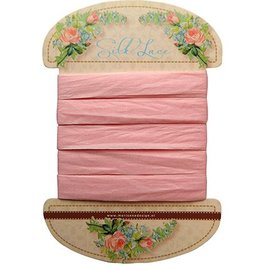 Marianne Design Marianne Design, seda encaje rosa, 13 mm - 150 cm