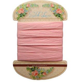 Marianne Design Marianne Design, Silk lace-pink, 13 mm - 150 cm