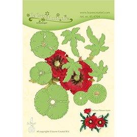 Leane Creatief - Lea'bilities und By Lene kutting og preging maler: Multi blomst, 3D Poppy Flower