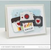 Carta Bella / Echo Park / Classica Die-Namics, cutting and embossing template, Cute Camera
