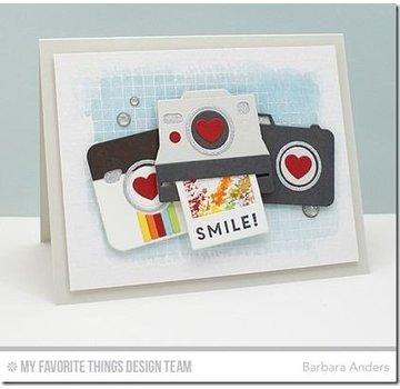 Carta Bella / Echo Park / Classica Die-Namics, cutting and embossing template, Cute Camera