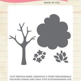 Carta Bella / Echo Park / Classica Ekkopark, skære- og prægemaler: Træ