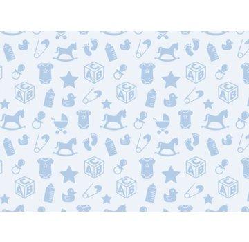 Spellbinders und Rayher Motivi a motivi di cartoncino in cartone, 213x310mm, 190 g / m2, blu notte
