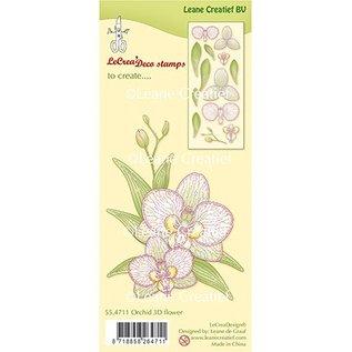 Leane Creatief - Lea'bilities und By Lene Leane Creatief, Transparent Stamp, Orchidee  3D Flower