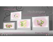 Cutting and emboss stencil:  Hydrangea by Lea'bilities Leane Creatief