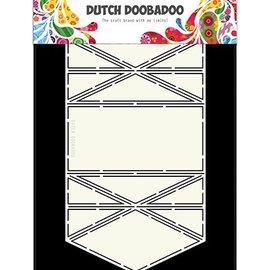 Dutch DooBaDoo Doobadoo holandés, plantilla de plástico, Card Art Diamond