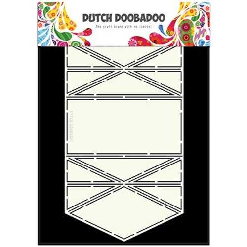 Dutch DooBaDoo Dutch Doobadoo, plastic stencil, Card Art Diamond