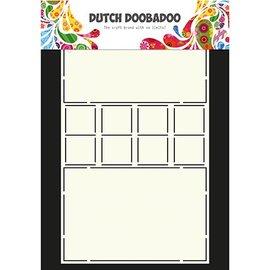 Dutch DooBaDoo Doobadoo hollandais, pochoir en plastique, serrures de carte d'art de carte