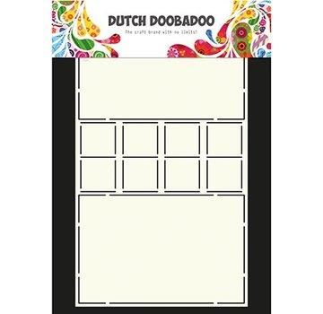 Dutch DooBaDoo Doobadoo olandese, stencil di plastica, serrature di carte artistiche