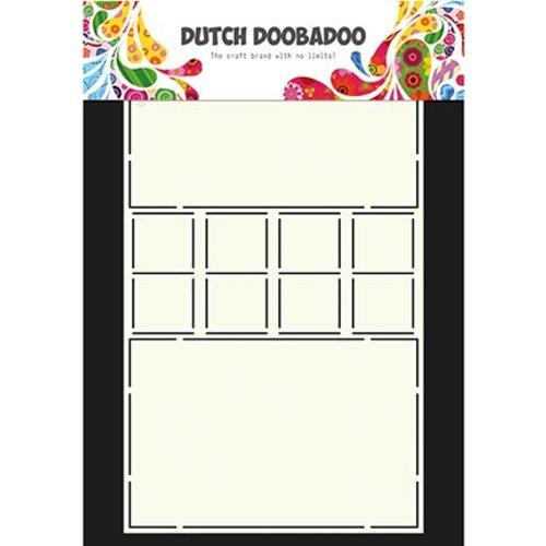 Dutch DooBaDoo Dutch Doobadoo, Plastic Stencil, Card Art Card Locks