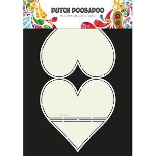 Dutch DooBaDoo Dutch Doobadoo, Plastic Stencil, Card Art Easel Card Heart