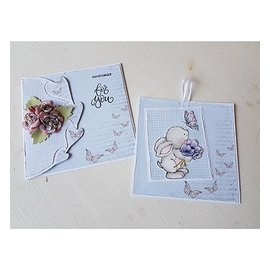 Dutch DooBaDoo Dutch Doobadoo, Plastik Schablone, Card Art Hearts