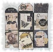 Joy!Crafts / Jeanine´s Art, Hobby Solutions Dies /  Scrapbooking Stencil, Mini Album