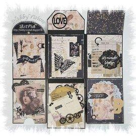 Joy!Crafts / Jeanine´s Art, Hobby Solutions Dies /  Pochoir de Scrapbooking, Mini Album