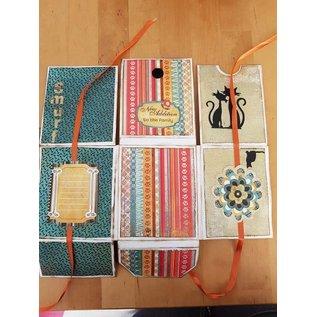 Joy!Crafts / Jeanine´s Art, Hobby Solutions Dies /  Scrapbooking stencil, mini-album