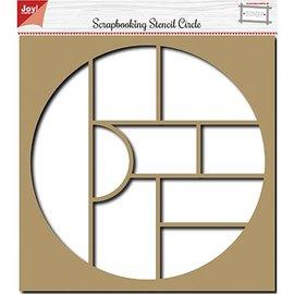 Joy!Crafts / Jeanine´s Art, Hobby Solutions Dies /  Stencil per scrapbooking, album, cerchio