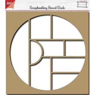 Joy!Crafts / Jeanine´s Art, Hobby Solutions Dies /  Scrapbooking stencil, album, cirkel