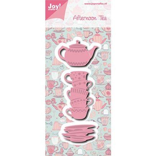 Joy!Crafts / Jeanine´s Art, Hobby Solutions Dies /  Joy! Crafts, coupe et gaufrage modèle: Thé de l'après-midi Tassen + Teekanne