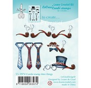 Leane Creatief - Lea'bilities und By Lene Leane Creatief, Transparent Stempel, Männer Dinge