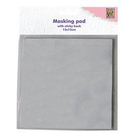 Nellie Snellen Nellie Snellen, 30 sheets, white mascade adhesive paper block