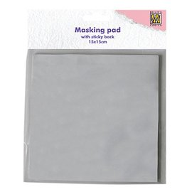 Nellie Snellen Nellie Snellen, 30 vellen, wit, mascara zelfklevend papierblok