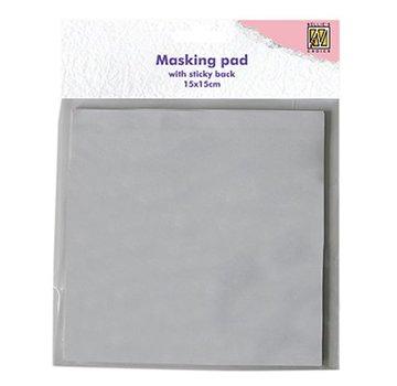 Nellie Snellen Nellie Snellen, 30 ark, hvid mascade klæbende papirblok