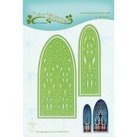 Leane Creatief - Lea'bilities und By Lene modelli di taglio e goffratura: finestra della Chiesa