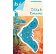 Joy!Crafts / Jeanine´s Art, Hobby Solutions Dies /  Joy!Crafts, cutting and embossing template: Corner Butterfly