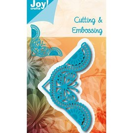 Joy!Crafts / Jeanine´s Art, Hobby Solutions Dies /  Joy! Crafts, coupe et gaufrage modèle: Corner Butterfly