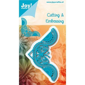 Joy!Crafts / Jeanine´s Art, Hobby Solutions Dies /  Joy!Crafts, Snij  en embossing sjabloon: Corner Butterfly