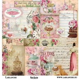 """LaBlanche LaBlanche, papel de scrapbooking / """"torta"""" de papel"""