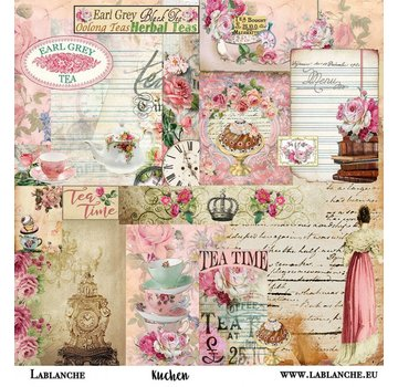 "LaBlanche LaBlanche, scrapbooking / card paper ""cake"""