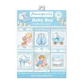 Stamperia Stamperia: Scrapbooking / Karten SET: Baby - letzte Exemplar!