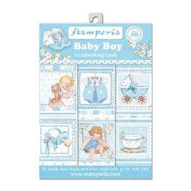 Stamperia und Florella Stamperia: Scrapbooking / kaarten SET: Baby - laatste exemplaar!
