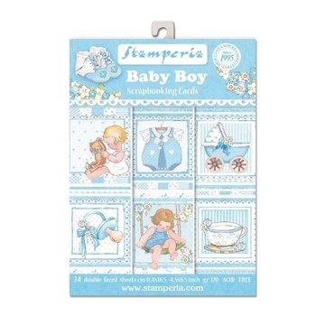 Stamperia Stamperia: Scrapbooking / kaarten SET: Baby - laatste exemplaar!