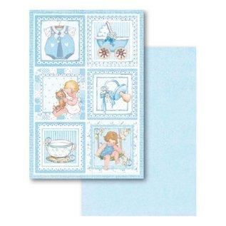 Stamperia und Florella Stamperia: Scrapbooking / kaarten SET: Baby