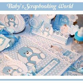 Stamperia Stamperia: álbum de recortes / tarjetas de papel, bebé