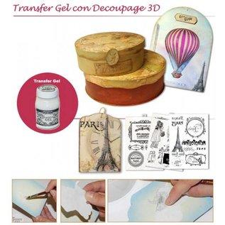 Stamperia und Florella Stamperia Transfer Paper A4-klokken