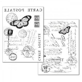 Stamperia und Florella Stamperia Transfer Paper A4, Carte Postale