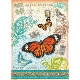 Stamperia und Florella Stamperia Overførselspapir A4, Carte Postale