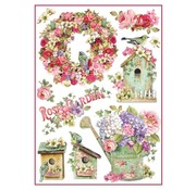 Stamperia Stamperia rispapir A4 Rose Garden